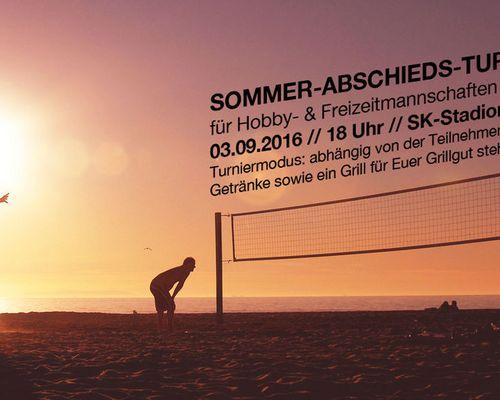 Sommer Abschieds Turnier 2016