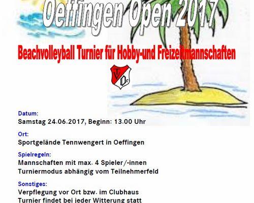 Oeffingen Open 2017