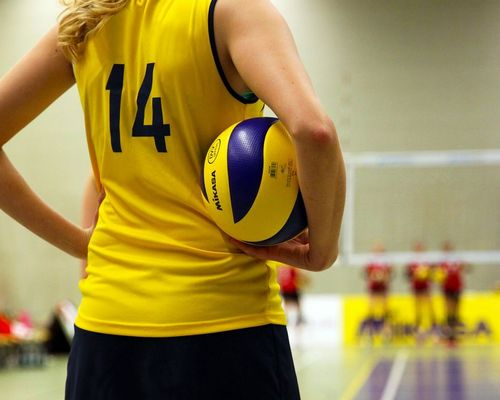 Volleyball für Mädchen 9-10 Jahre
