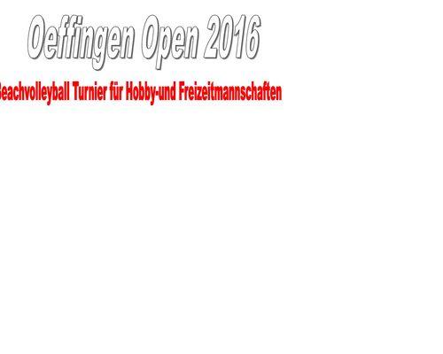 Oeffingen Open 2016