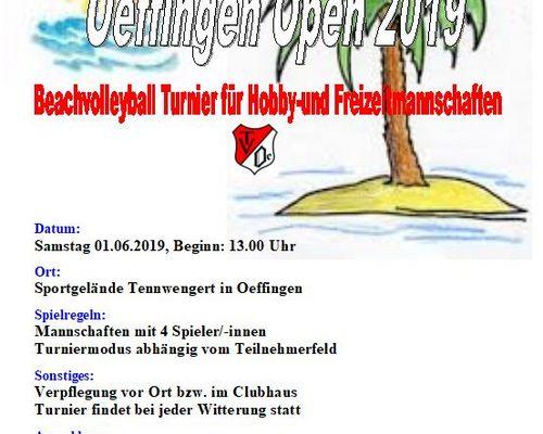 Oeffingen Open 2019