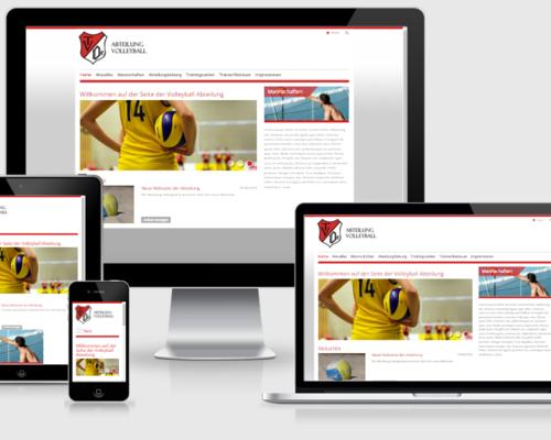 Neue Webseite der Abteilung